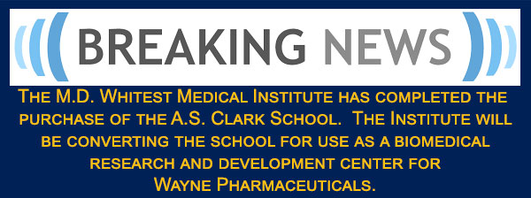 MD Whitest Medical Institute Breaking-News-Teaser-AS-Clark-Purchase-feat-img